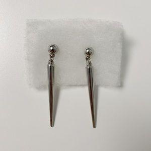 2/$8 Pointed Hanging Earrings